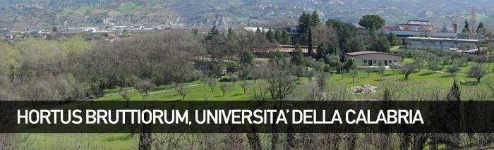 Hortus Bruttiorum, Orto Botanico dell'Università della Calabria