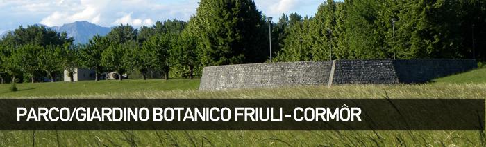 Parco/Giardino botanico Friuli – Cormôr
