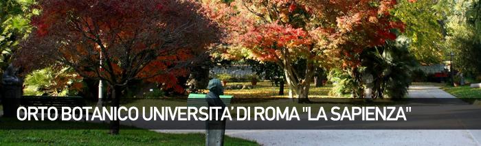 Museo Orto Botanico, Sapienza Università di Roma