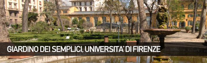 """Orto Botanico""""Giardino dei Semplici"""" dell'Università di Firenze"""