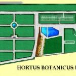 Planimetria dell'Orto Botanico
