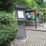 Ingresso dell'orto Botanico di Bergamo