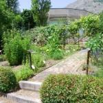 Gli ambienti del giardino