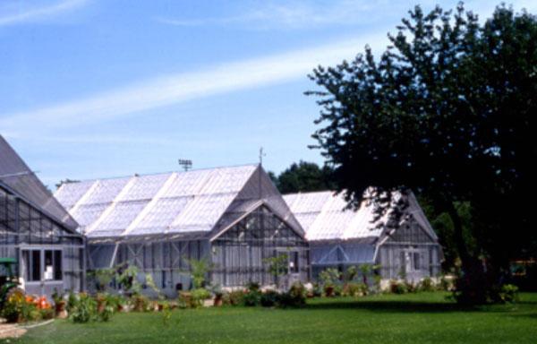 Osservatorio astronomico e aiuole foto di orto botanico di brera