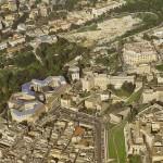 Veduta aerea dell'Orto Botanico di Cagliari