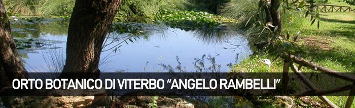 Orto Botanico 'Angelo Rambelli' – Viterbo
